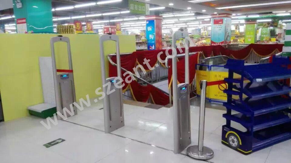 超市防盗门安装案例