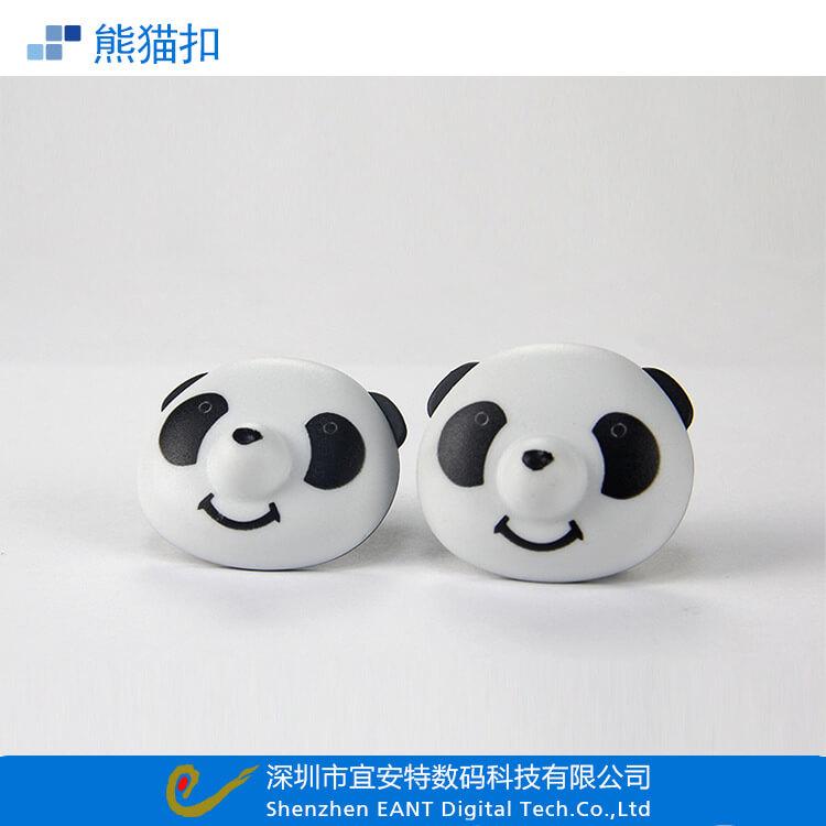 熊猫标签扣 家用被子固定器 被套毛毯防滑防跑固定扣固定夹